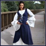 Serving Wench Renaissance Costume Dress