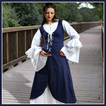 Renaissance Serving Wench Dress  sc 1 st  Deluxe Theatrical Quality Adult Costumes & Renaissance Serving Wench Peasant Women Costume Dresses | Deluxe ...