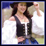 Black Lace Up Corset Bodice