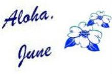 June's Signature