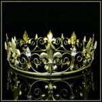 Medieval Renaissance King Crown