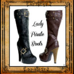 Lady Pirate Boots