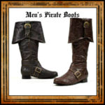 Men's Pirate Boots & Sandals