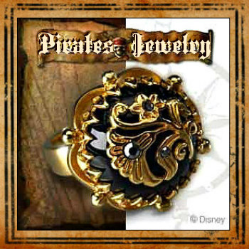 Deluxe Adult Costumes - Men's Pirate Jewelry
