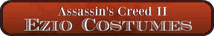 Deluxe Adult Costumes - Assassin's Creed II Ezio Auditore Da Firenze Cosplay Costumes