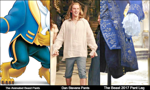 Prince Adam Beauty And The Beast Pant Legs