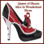 Adult Queen of Hearts Shoes