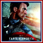 Captain America Deluxe Men Costumes