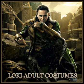 Loki mens costumes deluxe theatrical quality adult costumes loki mens costumes solutioingenieria Gallery