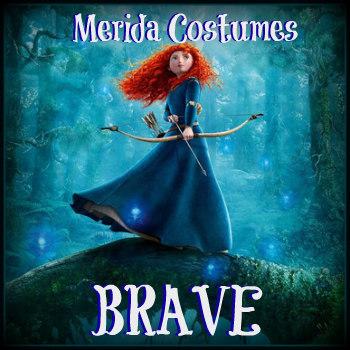 Merida Brave Costumes