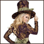 Fancy Lady Mad Hatter Cosplay Costumes